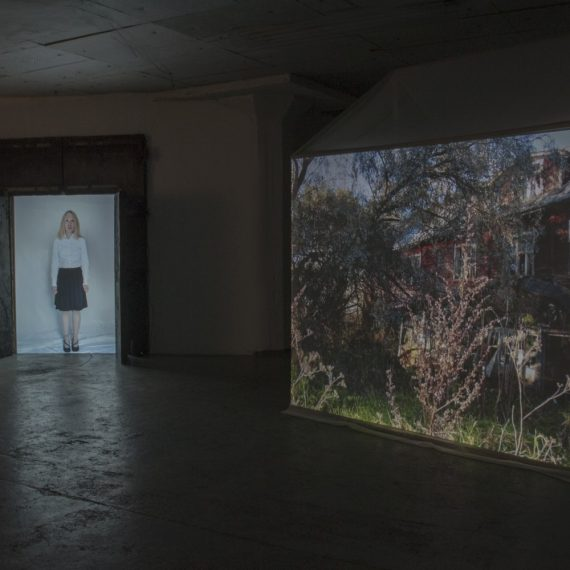 Rakennuksen elämä, 2015, mediainstallaatio, kaksi kanavaa, stereoääni