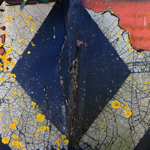 Ehdotus Linnunradan liikennemerkiksi, 2012, mustevedos, 60 x 190 cm