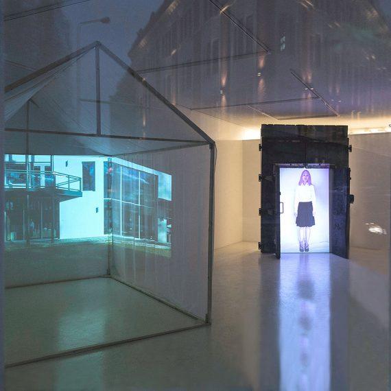 Rakennuksen elämä, 2015, mediainstallaatio, kaksi kanavaa, stereoääni, Galleria 12, Kuopio